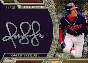 2015 Topps Tier One Baseball Acclaimed Autographs