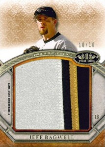 2015 Topps Tier One Baseball Prodigious Patches