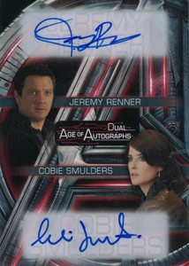 2015 Upper Deck Avengers Age of Ultron Dual Autograph