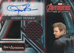 2015 Upper Deck Avengers Age of Ultron Locker Autograph