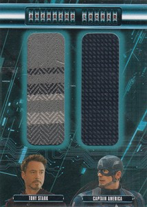2015 Upper Deck Avengers Age of Ultron Locker Dual