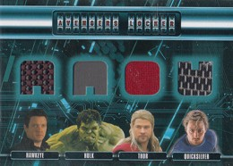 2015 Upper Deck Avengers Age of Ultron Locker Quad