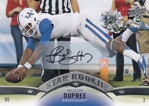 2015 Upper Deck Star Rookies Autograph Alvin Bud Dupree