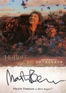 Hobbit Smaug Autographs Martin Freeman