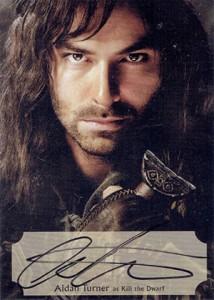 Hobbit Smaug Autographs Poster Aidan Turner