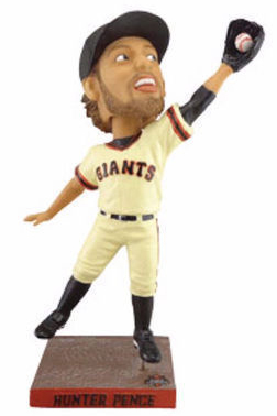 Hunter Pence Bobblehead 2015 Giants SGA