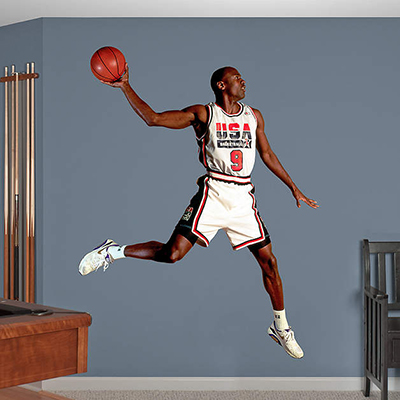 Michael Jordan Dream Team Fathead