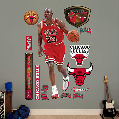 Michael Jordan, Wayne Gretzky Fathead Wall Decals Released 1