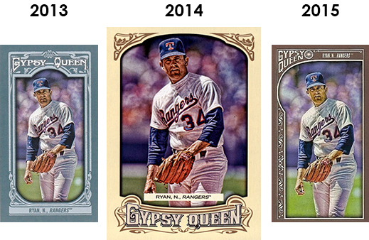 2015 Topps Gypsy Queen Baseball Cards 39