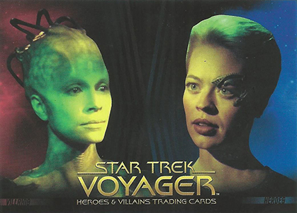 Star Trek Voyager Heroes and Villains P1