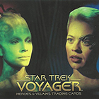 2015 Rittenhouse Star Trek Voyager: Heroes and Villains Trading Cards