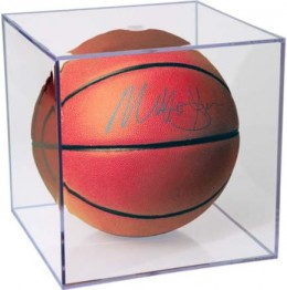 Ultra Pro Basketball and Soccer Ball Display Cases 1