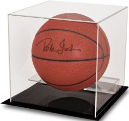 Ultra Pro Basketball and Soccer Ball Display Cases 3