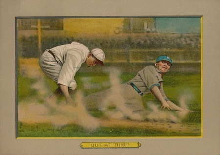 1910-11 T3 Turkey Red Baseball Cabinet Cards 3