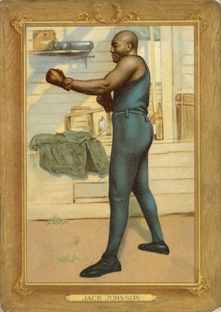 1910-11 T3 Turkey Red Baseball Cabinet T9 Boxing Jack Johnson
