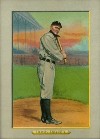 1910-11 T3 Turkey Red Baseball Cabinet Ty Cobb