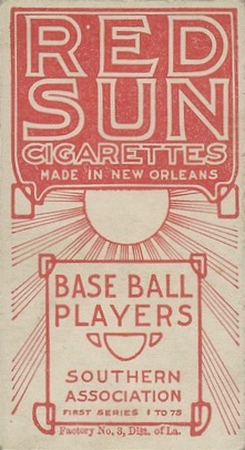 1910 T211 Red Sun Baseball Cards 2