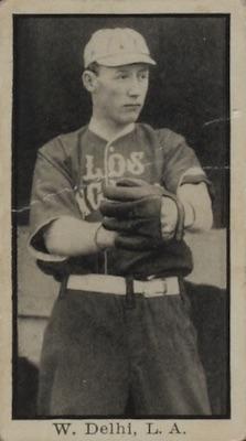 1911 T217 Mono Baseball delhi front