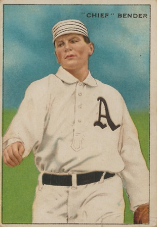 1912 T227 Series of Champions Baseball Chief Bender
