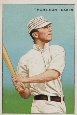 1912 T227 Series of Champions Baseball Home Run Baker