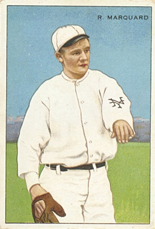1912 T227 Series of Champions Baseball Richard Rube Marquard