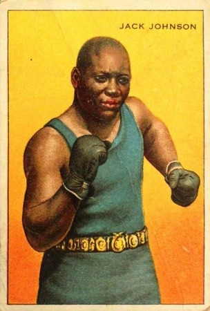 1912 T227 Series of Champions Jack Johnson
