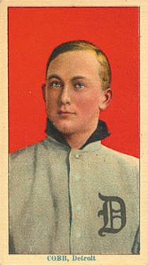 1914-15 T213 Coupon Baseball Type 2 Ty Cobb