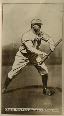 1914 T222 Fatima Baseball Frank Chance