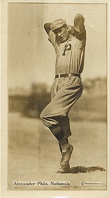 1914 T222 Fatima Baseball Grover Cleveland Alexander