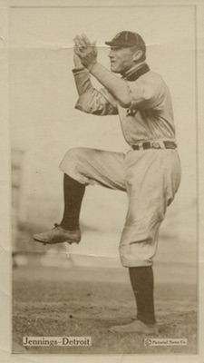 1914 T222 Fatima Baseball Hugh Jennings