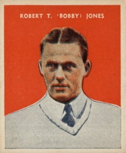 1932 U.S. Caramel Baseball Bobby Jones