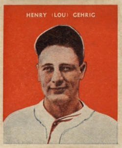 Top 10 Lou Gehrig Baseball Cards 9
