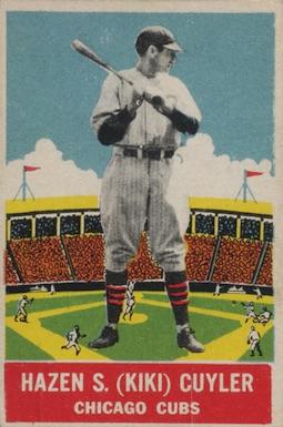 1933 DeLong Baseball Kiki Cuyler