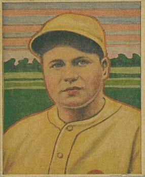 1933 George C. Miller Baseball Jimmie Foxx