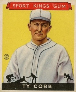 Top 10 Ty Cobb Baseball Cards of All-Time 2
