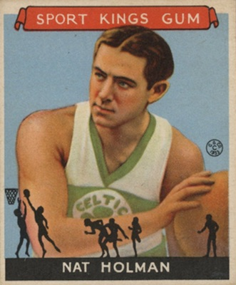 1933 Sport Kings Basketball Nat Holman