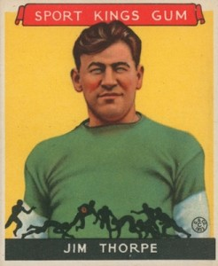 1933 Sport Kings Football Jim Thorpe