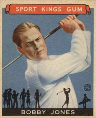 1933 Sport Kings Golf Bobby Jones