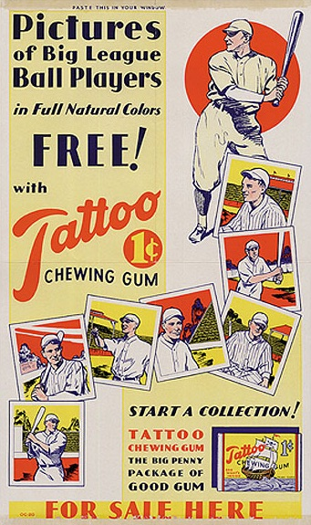 1933 Tattoo Orbit Baseball Cards 1