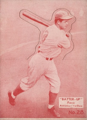 1934-36 Batter Up Baseball Cards 4