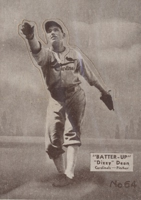 1934-36 Batter Up Baseball Cards 25