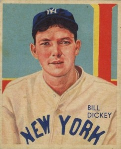 1934-36 Diamond Stars Baseball Bill Dickey