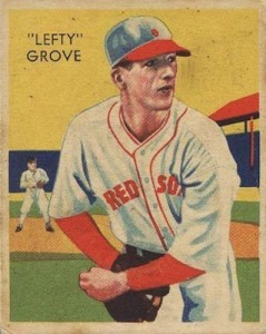 1934-36 Diamond Stars Baseball Lefty Grove