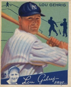 Top 10 Lou Gehrig Baseball Cards 7