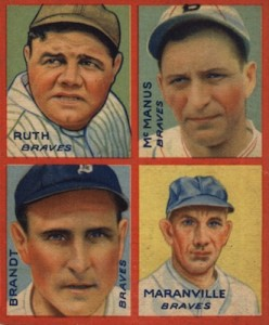 1935 Goudey Baseball Cards 1