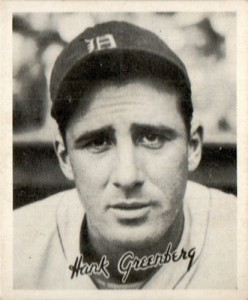 1936 Goudey Baseball Hank Greenberg