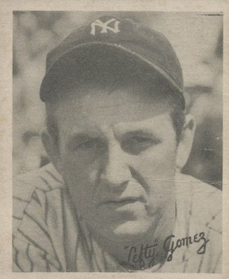 1936 Goudey Baseball Lefty Gomez