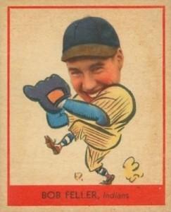 1938 Goudey Baseball Bob Feller 264