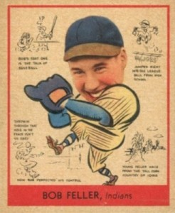 Top 10 Bob Feller Baseball Cards 12