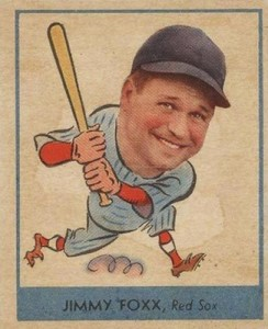 1938 Goudey Baseball Jimmie Jimmy Foxx 249